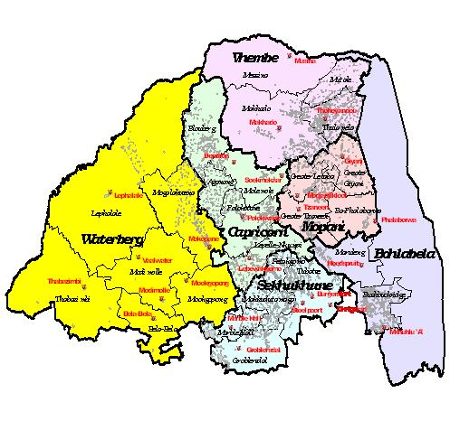 Image result for waterberg map